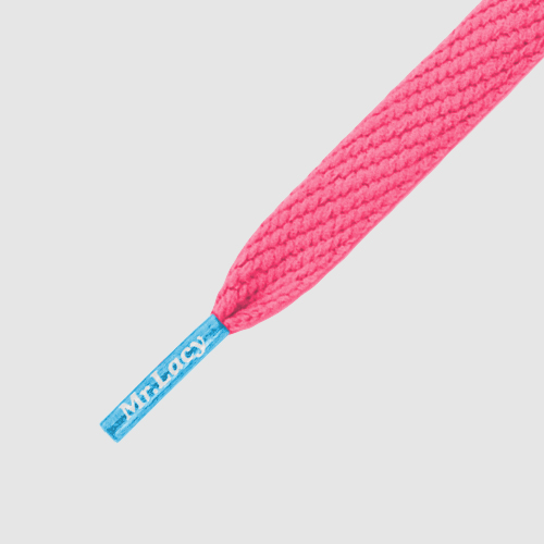 Mr.Lacy Flatties Colored Tips Neon Pink - Mellow Blue