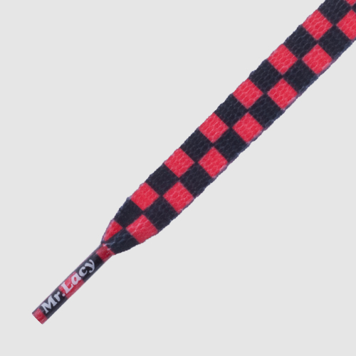 Mr.Lacy Printies Checkered Red/Black